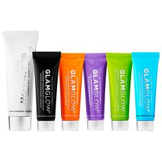 Shop GLAMGLOW's #Multimasking Mask Treatment Set at Sephora. This set include six different masks for every skin concern.