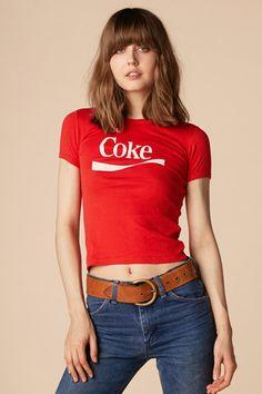 70's Cherry Coke Ringer Tee