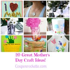 20 DIY Mother's Day Gifts - couponrockette.com