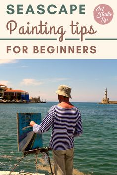 Learn how to paint seascapes with these important painting tips! Seascape painting tips. Seascape painting for beginners. Seascape painting tutorial. Seascape painting in oil paint. Oil painting for beginners. How to paint seascapes. How to oil paint. #seascape #seascapepainting #oilpaintingforbeginners #seascapepaintingtips #seascapepaintingtutorials #howtopaintseascapes Oil Painting For Beginners, Painting Tips, Painting Techniques, Seascape Paintings, Your Paintings, Landscape Paintings, High Contrast, Learn To Paint, Art Oil