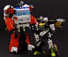 Transformers United Artfire and Stepper