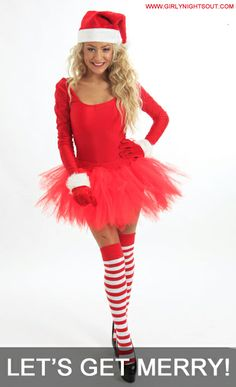 Merry Miss Santa Costume - £25.99 From girlynightsout xx