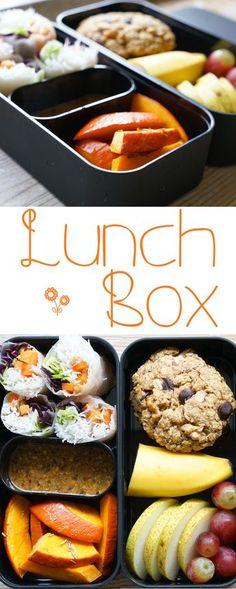 Bento Box zum mitnehmen - gesundes Mittagessen für Uni, Schule und Arbeit.