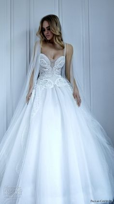 strapless illusion sweetheart neckline filigree lace embroiderd beautiful ball gown dress courtney