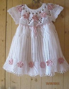 Click to view pattern for - Crochet delicate dress