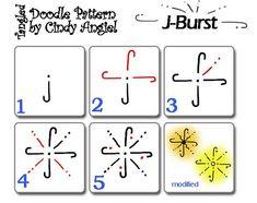 J-Burst Doodle Worksheet