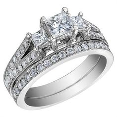 What a beautiful wedding ring