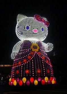 Hello Kitty Lighted Parade Float