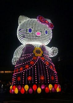 Hello Kitty Lighted Parade Float