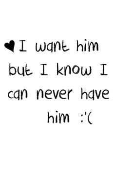 I want him. i want h