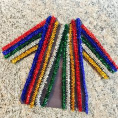 Joseph's Coat of Many Colors Sunday School Craft Pipe Cleaners Construction pa. - Joseph's Coat of Many Colors Sunday School Craft Pipe Cleaners Construction paper Glue Sunday School Crafts For Kids, Bible School Crafts, Bible Crafts For Kids, Sunday School Activities, Preschool Bible, Bible Lessons For Kids, Children's Sunday School, Kids Bible, Sunday School Classroom