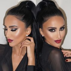 """Last night's glam by @dressyourface using @lillylashes in styles PARIS and VENICE stacked #GhalichiGlam #LillyLashes"""
