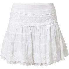 Best Mountain Mini skirt (€34) ❤ liked on Polyvore featuring skirts, mini skirts, bottoms, saias, white, short skirts, mini skirt, zipper skirt, print skirt and print mini skirt