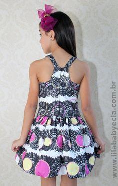 Vestido Infantil Diforini Moda Infanto Juvenil 010767                                                                                                                                                                                 Mais