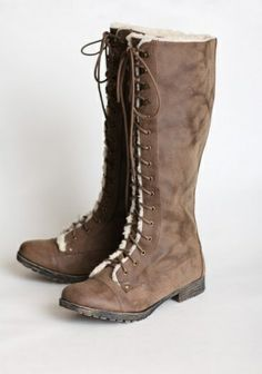 These Boots Look Stylish, Warm, And Sturdy! - Click for More...
