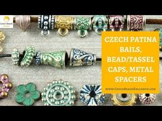 Video! CZECH PATINA Bails, Bead/Tassel Caps, Metal Spacers - New Arrivals     #dawanda #dawanda_de #dawandashop #etsy #etsyshop #etsystore #etsyfinds #etsyseller #amazon #amazondeals #alittlemercerie #patina #patinajewelry #copperpatina #bails #tassel #beadcaps #metal #spacer #czechbeads #glassbeads #czechglassbeads #czechglassjewelry