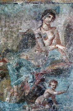 Pompeji - Venus als Fischerin
