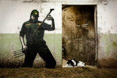 Street Art News: Pøbel New Pieces - Henningsvær, Norway Street Art News, Murals Street Art, Street Art Graffiti, Street Artists, Norway Hotel, Street Art Photography, Norway Travel, Lofoten, Illustrations