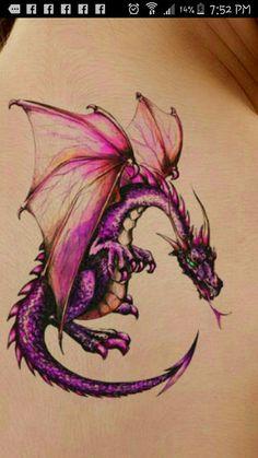 Dragon Pink Tattoo