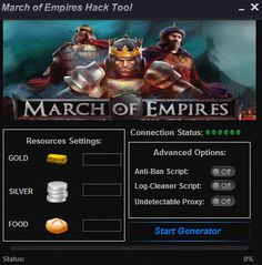 March of Empires Hack Tool
