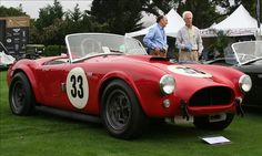 Who says men are the only ones who lust after the Shelby Cobra??  I would like mine in blue with white racing stripes... thanks.