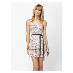 Lovely Sight Dress Roxy via Polyvore