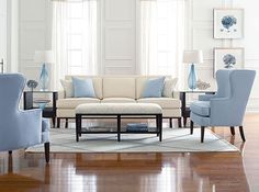 Elegant Escape Living Room Vignette From The Libby Langdon Upholstery  Furniture Collection For Braxton Culler