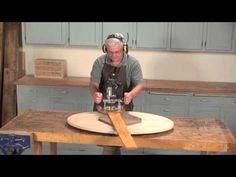 The Elliptical Router Jig - This ingenious device takes you beyond the circle. It's based on an old design, but this version is easy to build and works with an ultra-smooth action. Using a simple micro-adjust feature, it produces a perfectly smooth edge.