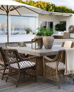 Wicker Furniture, Outdoor Furniture Sets, Outdoor Decor, Outside Seating, Newport, Dining Area, Rattan, Best Sellers, Teak