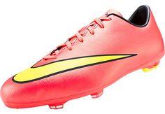 2d7e0a834800e Nike Youth Mercurial Victory V FG Soccer Cleats - Hyper Punch |  SoccerMaster.com Chuteiras