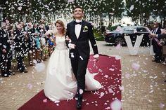Pełen emocji i swobody ślub Marty i Tomka w obiektywie : MalarzewParze.pl