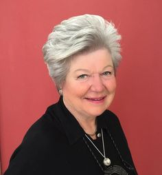 Older Women's Short Gray Hairstyle