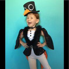 Girls sequin penguin costume Custom made! Pinguin Costume, Girl Costumes, Costume Ideas, Sequin Jacket, Large Buttons, Madagascar, Warfare, Dance Wear, Custom Made