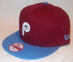 purchase cheap 6d79f 2dab1 MLB PHILADELPHIA PHILLIES NEW ERA 9Fifty Mens Retro 2-Tone Snapback Hat  Retro 2,