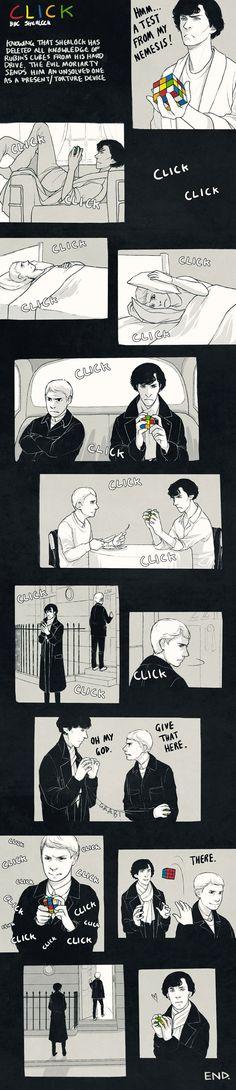 Rubix cubes and Sherlock...