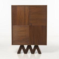 Osvaldo Borsani; Walnut Cabinet, 1940s.