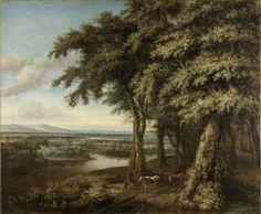 De ingang van het bos, Philips Koninck, 1650 - 1688
