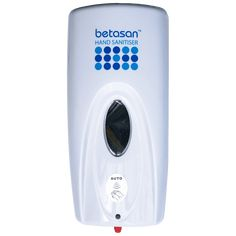 Perfect for your kitchen or front door, this Betasan™ Wall-Mounted Dispenser sprays our Betasan™ Alcohol-Based Liquid Sanitiser Sachetsin measured doses with an automatic movement-activated sensor. DISCOUNTED UNITS: These units have been unboxed & do not include wall plugs, screws or the release-button lock. You'll need to use your own screws & wall plugs. The release-button lock is not required for normal operation. The device has been tested & functions as normal. Includes 6 x AA
