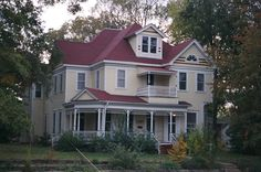 Victorian Historic Homes In Nacogdoches,Texas