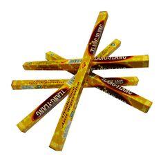 http://www.maniasemanias.com/produto/incenso-vareta-ylang-ylang - INCENSO VARETA YLANG YLANG - Objetivo: Afrodisíaco, anti depressivo. - Embalagem: Caixa com 8 varetas - Marca: Sac