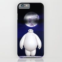 i phone cases:Big Hero And Moon iPhone 6 Slim Case