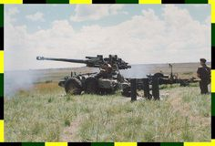 Guns - (Artillery) Probably the best artillary piece in the world, firing almost a flat trajectory Battle Rifle, Ride 2, Brothers In Arms, Defence Force, Big Guns, Armored Vehicles, War Machine, Armed Forces, Military Vehicles