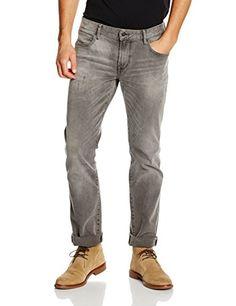 BOSS Orange 24 Barcelona, Jeans Homme, Gris (Grey), W33/L…