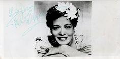 Billie Holiday hair flowers (gardenias? Magnolias?)