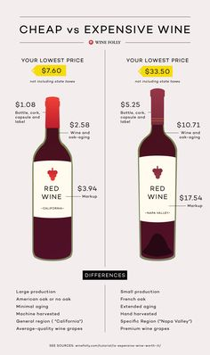 Comparing Cheap vs. Expensive Wine by Wine Folly