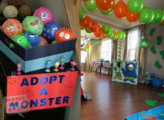 Logan's Monster Birthday Party Mama Say What?!   Mama Say What?!