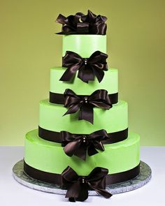 Satin Bows Cake by Jacques Fine European Pastries