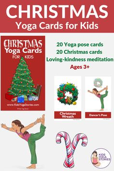 206 best yoga cards for kids images in 2019  toddler yoga