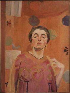 Self-Portrait, 1915,  Katharine N. Rhoades, (1885 - 1965)
