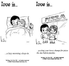 """Love Is Cartoons By Kim   50 Cute """"Love Is"""" Comics by Kim Casali   the perfect line"""